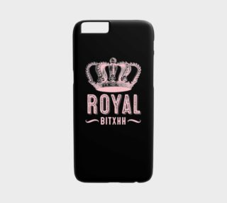 Royal Bitxh iPhone Case preview