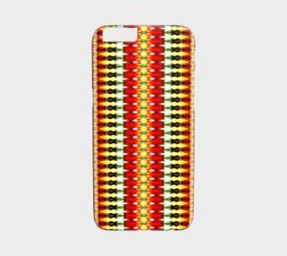 Aperçu de Bright Aztrec Tribal Pattern iPhone 6 /6S Case