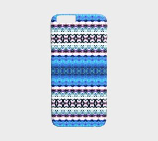 Aperçu de Ocean Blue Abstract Pattern iPhone 6 /6S Case