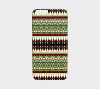 Aperçu de Boho Chic Tribal Pattern iPhone 6 /6S Case