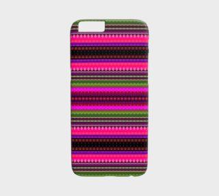 Aperçu de Bohemian Tribal Chic Pattern iPhone 6 /6S Case