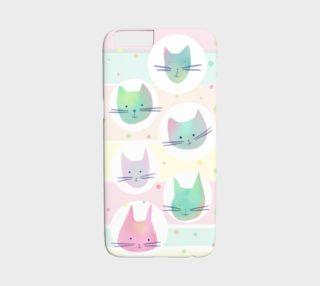 Aperçu de Cats phone case - iphone6/6s
