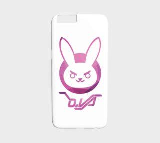 Overwatch D.Va geometric cellphone case preview