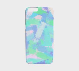 Aperçu de abstract multicolor brush strokes texture