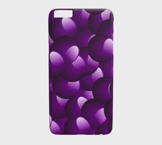 Purple Bubble Phone Case preview