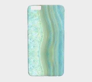 Turquoise Blue Marble Pattern aperçu