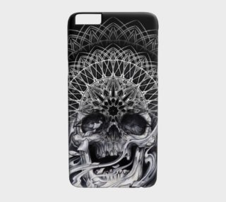 skull 3rd eye mandala Iphone6/6s by Dustin Zane Poole preview