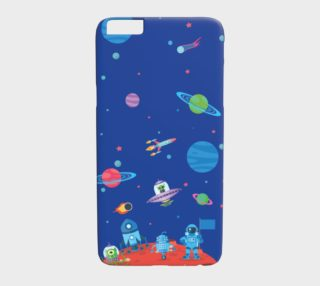 Aperçu de Space Mural iPhone 6/6S Plus