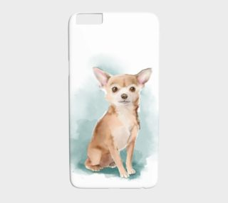 Chihuahua watercolor iphone preview