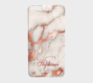 Marble with Name iPhone6 preview