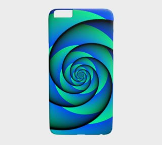 Power Spiral Waves Blue Green preview