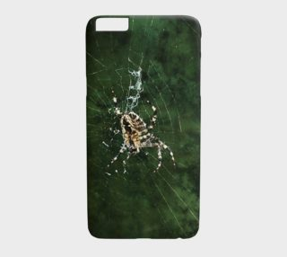 Spider Photo iPhone 6/6S Plus Case Green preview