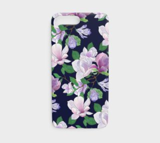 Magnolia Floral Frenzy iPhone cover preview