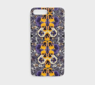 Kaleidoscopic Pansies iphone case preview