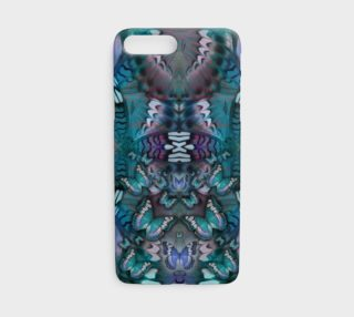 Aperçu de Blue Butterfly iphone case