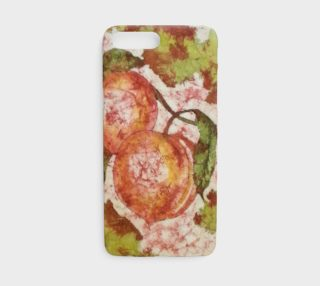 Watercolor Batik Peaches iPhone8 preview