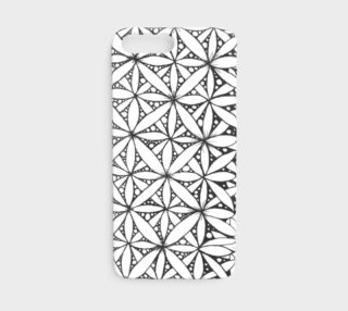 Flower of Life White iPhone8 preview