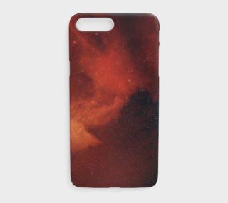 Aperçu de Orange/Black Nebula iPhone 7+/8+