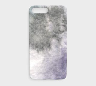 Aperçu de Watercolors Black/Purple iPhone 7+/8+