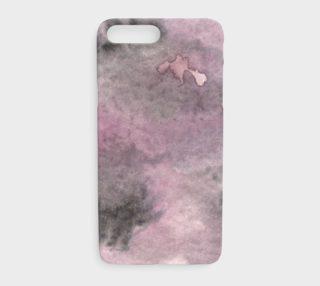 Aperçu de Watercolors Black/Purple Splotch iPhone 7+/8+