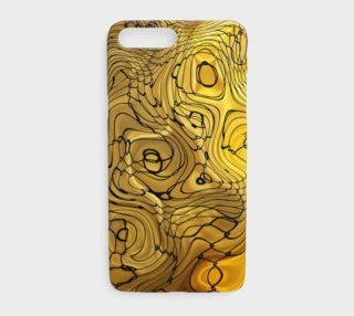 Liquid Gold and Black Swirls preview