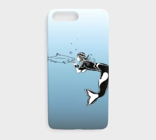 Kissing Mermaid iPhone ⅞ plus preview