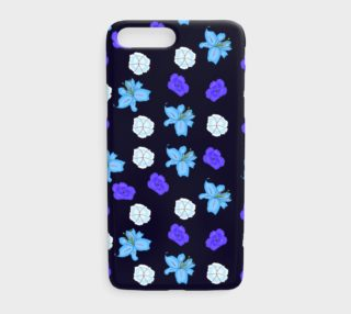 Blue flowers preview