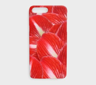 Holiday Red White Amaryllis Floral Iphone 7 Plus preview