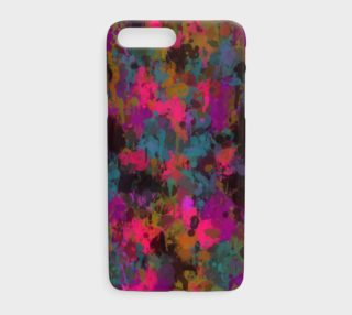She's A Beautiful Mess Painted Splatter iPhone Cases  preview