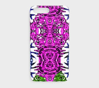 Pink Green Aztec Cool Cartoon Pattern IPhone Cases  preview
