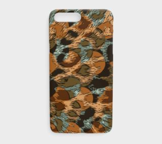 CheetahLicious Abstract Earth Tone Print iPhone Cases  preview