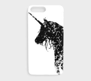 Me So Unicorny Black iPhone 7 Plus Case preview