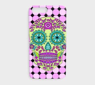 Aperçu de Sugar Skull Square iphone7plus