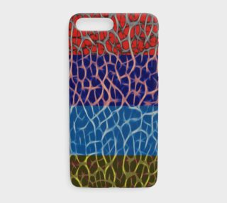 Multicolor Geometric Abstract iPhone 7 Plus Case  preview