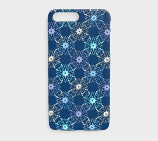 Aperçu de Christmas holiday snowflakes pattern