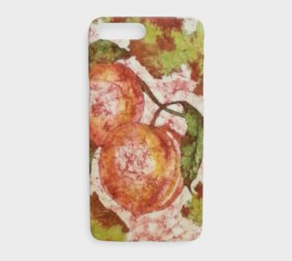 Watercolor Batik Peaches iPhone8 Plus preview