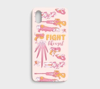 FIGHT like a girl IPHONE X preview