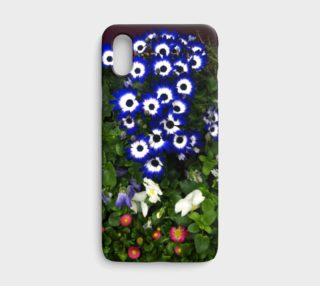 Blue & Pink Anemone, iPhone X preview