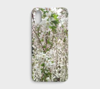White Cherry Blossoms, iPhone X preview