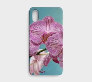 Purple Orchid Apple iPhone X Phone Case preview
