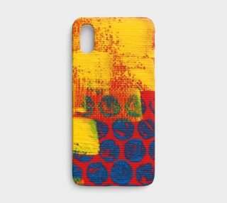 Playing With My Paint iPhone Case aperçu