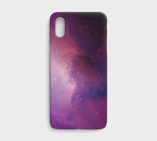 Aperçu de Purple Nebula iPhone X