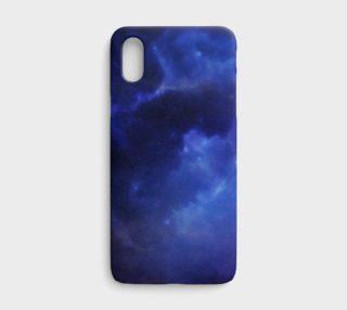 Aperçu de Blue Nebula iPhone X