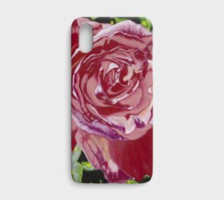 """""""My Funky Valentine"""" iPhone X Case preview"""