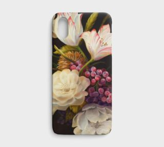 Winter Floral iPHONE X CASE preview