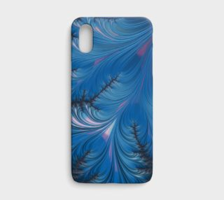Winter Dusk iPhone X Case preview