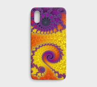 Royal Hippy iPhone X Case preview