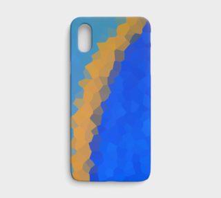Yellow Curve iPhone Case preview
