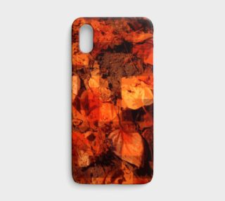 Orange Leaves - iPhone X / XS preview