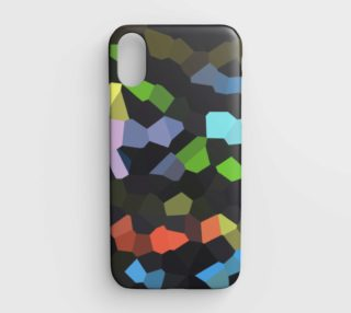 Carnival Mosaic iPhone Case preview